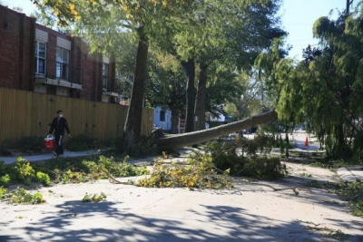 Hurricane Zeta leaves thousands without power in Louisiana