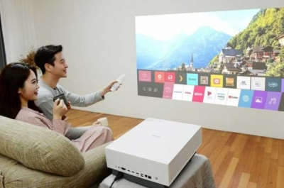 LG releases new 4K projector with 'triple image adjustment' feature