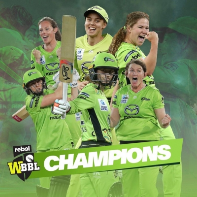 Sydney Thunder win Women's Big Bash League for second time