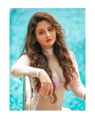 Rashami Desai sizzles in hot pink bikini photoshoot