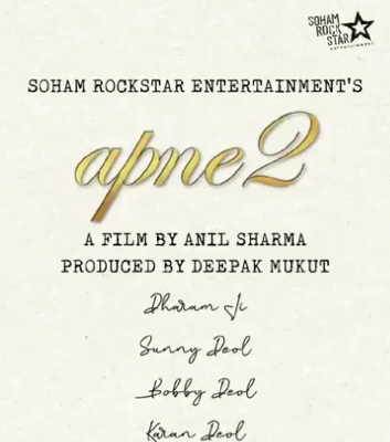 Deol family announces new film Apne 2 on Guru Nanak Jayanti