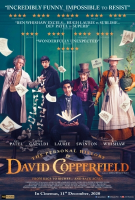 Dev Patel-starrer 'The Personal History Of David Copperfield' in Indian theatres on Dec 11
