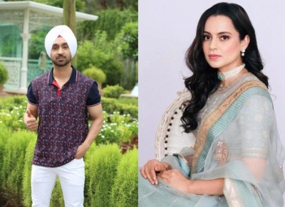 Diljit Dosanjh locks horns with Kangana Ranaut, gets celeb support