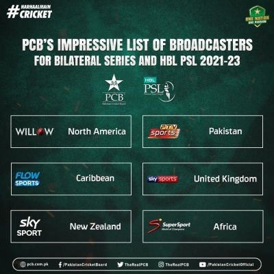 PCB sign deals with broadcasters to take Pak cricket in UK, NZ