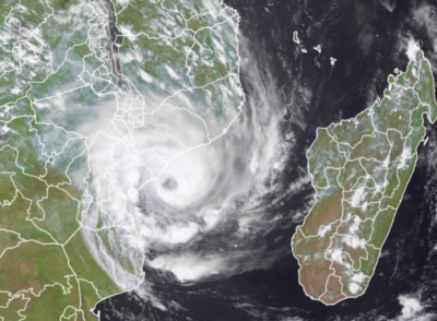 Tropical storm Eloise makes landfall in Mozambique