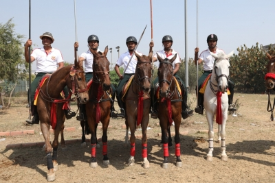 Mohit of Indian Navy bags Rings and Peg Tent Pegging gold