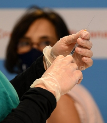 German Olympic body expects its athletes to be vaccinated soon.