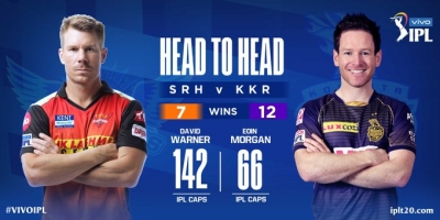 SRH win toss, choose to field (Credit: BCCI/IPl)  (Strictly not for Sale)