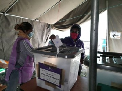 Ethiopia votes in general elections after delay.(pic credit: https://twitter.com/NEBEthiopia)