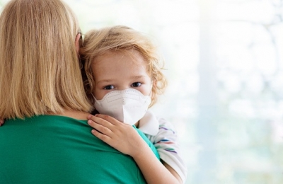 Complications in kids hospitalised with Covid