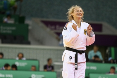 German judo coach given official warning over warm-up video