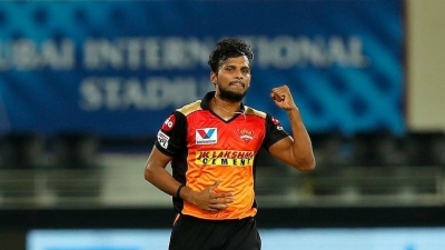 IPL 2021: SRH's Natarajan tests Covid positive, six close contacts isolated (ld)
