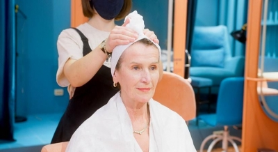 The benefits of salon services at home during the festive season.(photo:Ianslife)